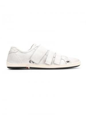 Panelled sneakers Osklen. Цвет: нейтральные цвета
