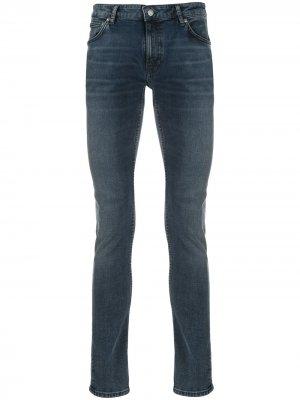 Джинсы скинни Lin Nudie Jeans. Цвет: синий
