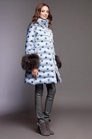 Пальто Naumi. Цвет: горох