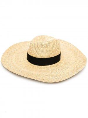 Шляпа с лентой Borsalino. Цвет: 7140 beige
