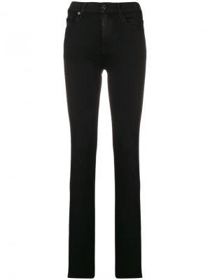 Skinny jeans 7 For All Mankind. Цвет: черный
