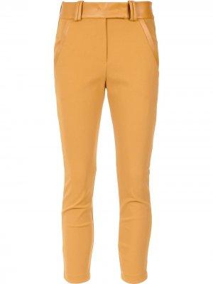 Belted leggings Gloria Coelho. Цвет: желтый
