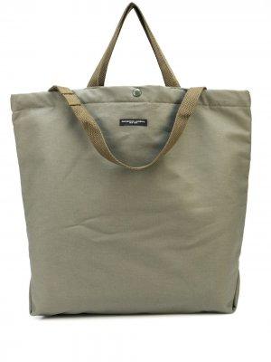Сумка-тоут Carry All Engineered Garments. Цвет: зеленый