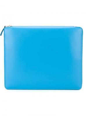 Чехол для планшета Colour Plain Comme Des Garçons Wallet. Цвет: синий