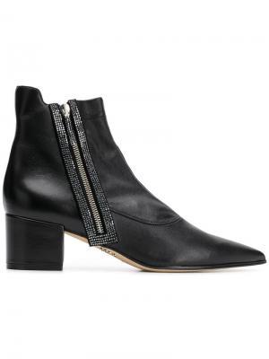 Pointed ankle boots Rodo. Цвет: черный