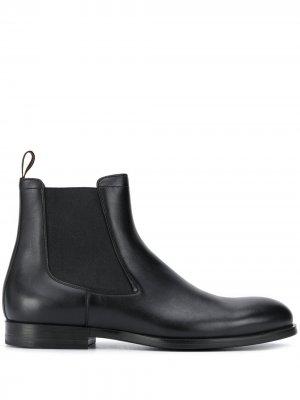 Ботинки челси Santoni. Цвет: черный
