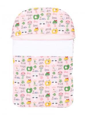 Спальный мешок think magic fun Fendi Kids. Цвет: розовый