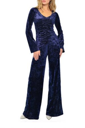 Блузка MONDIGO. Цвет: темно-синий