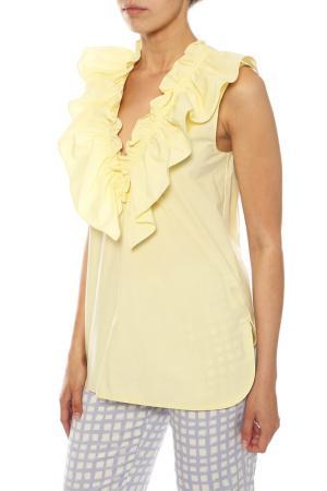 Блузка Marni. Цвет: желтый