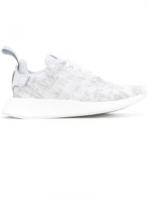 Кроссовки  Originals NMD_R2 adidas. Цвет: белый