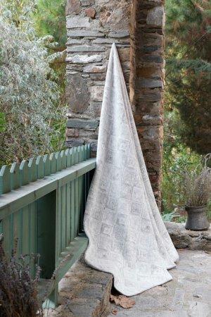 Плед Анжу, 150х200 Classic by T. Цвет: серый