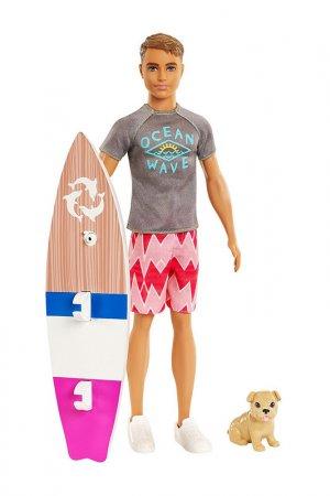 Кукла  Кен Barbie. Цвет: серый