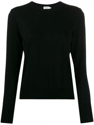 Джемпер с круглым вырезом Filippa K. Цвет: черный