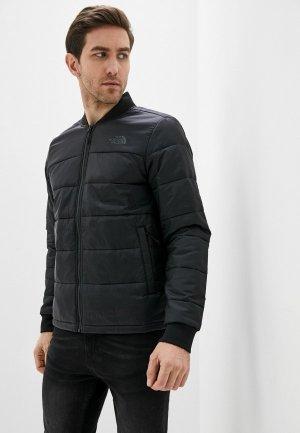 Куртка утепленная The North Face. Цвет: черный