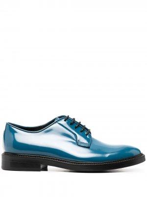 Туфли дерби Turner на шнуровке Paul Smith. Цвет: синий