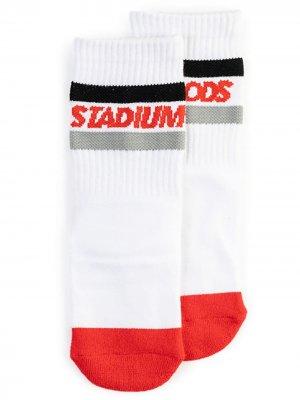 Носки в полоску Stadium Goods. Цвет: белый