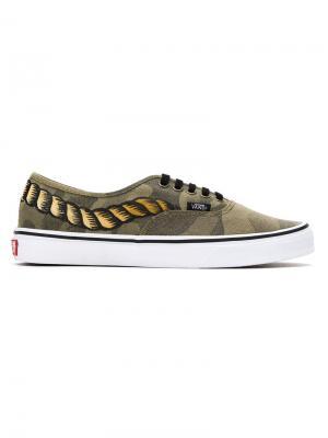 Camouflage  x Vans sneakers À La Garçonne. Цвет: camuflado