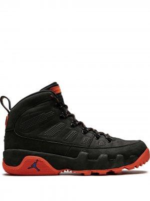Кроссовки Air  9 Boot Jordan. Цвет: черный
