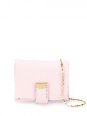 Сумка на плечо с цепочкой Marc Jacobs. Цвет: розовый