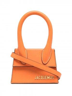 Сумка Le Chiquito Jacquemus. Цвет: оранжевый