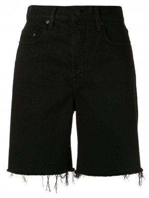 Джинсовые шорты Tyler Nobody Denim. Цвет: черный