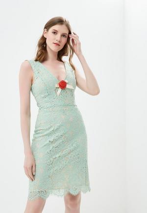 Платье Phard. Цвет: бирюзовый