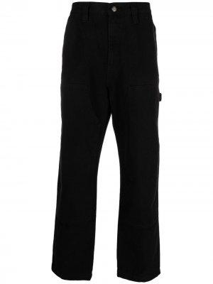 Прямые джинсы Stussy. Цвет: черный