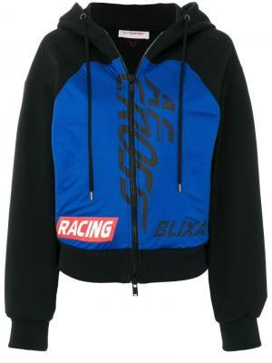 Толстовка с капюшоном Racing A.F.Vandevorst. Цвет: черный
