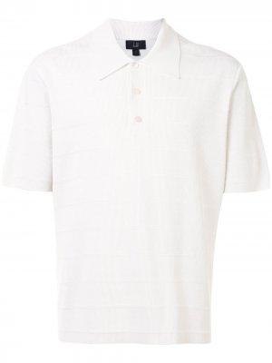 Рубашка поло в полоску Dunhill. Цвет: белый