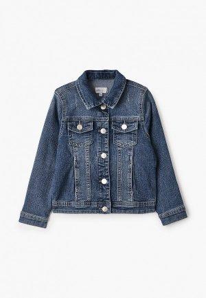 Куртка джинсовая Kids Only. Цвет: синий