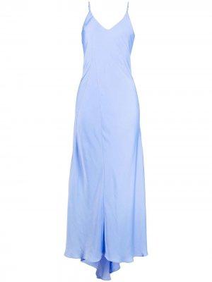 Платье макси Zipmunk Essentiel Antwerp. Цвет: синий