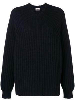 Трикотажный свитер Hache. Цвет: черный