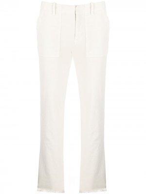 Прямые брюки Jenna Nili Lotan. Цвет: нейтральные цвета