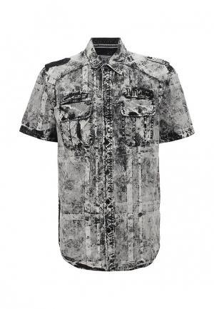 Рубашка Affliction. Цвет: серый