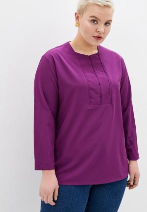 Блуза Svesta. Цвет: фиолетовый