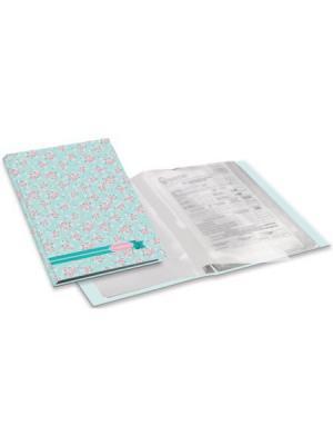 Папка-каталог Compliment 40л. Expert Complete. Цвет: голубой, розовый