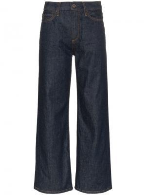 Расклешенные джинсы quinby Simon Miller. Цвет: синий