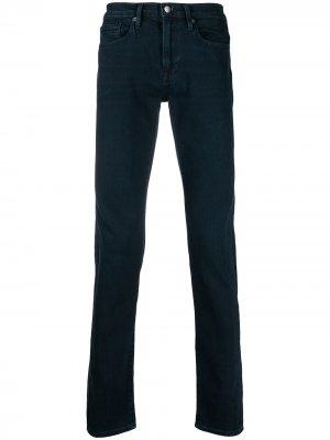 Узкие брюки FRAME. Цвет: синий