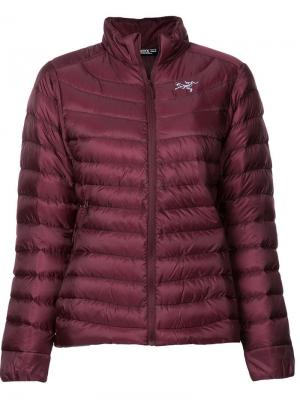 Quilted jacket Arc'teryx. Цвет: красный