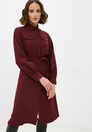 Платье Manila Grace. Цвет: бордовый