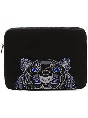 Чехол для ноутбука Tiger Kenzo. Цвет: черный