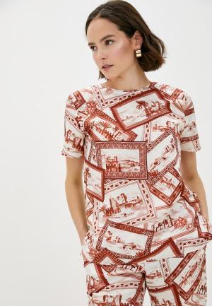 Блуза Joseph. Цвет: коричневый