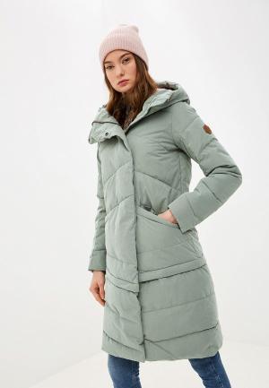 Куртка утепленная Merrell. Цвет: зеленый