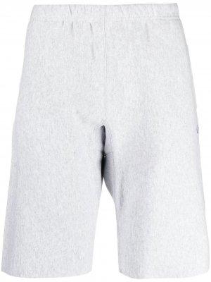 Спортивные шорты с вышитым логотипом Champion. Цвет: серый
