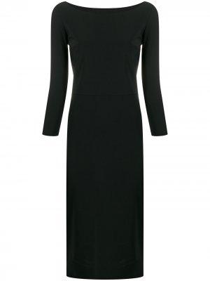 Платье-трапеция Le Petite Robe Di Chiara Boni. Цвет: черный