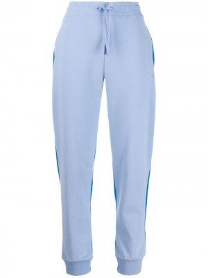 Спортивные брюки с контрастной вставкой Chinti and Parker. Цвет: синий