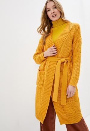 Кардиган Fresh Cotton. Цвет: желтый