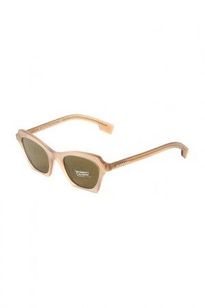Очки солнцезащитные BURBERRY. Цвет: matte brown
