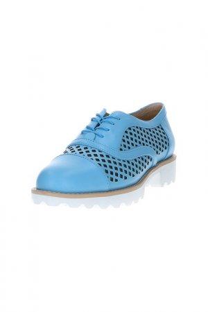 Оксфорды Barcelo Biagi. Цвет: голубой