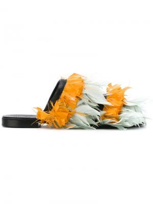 Сандалии Scarpa Avec Modération. Цвет: жёлтый и оранжевый